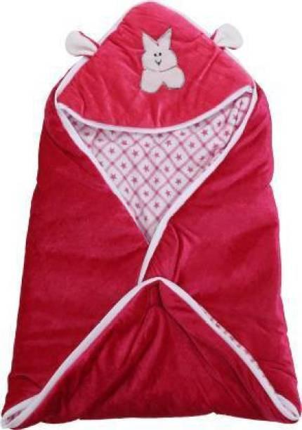 First Trend Checkered Crib Hooded Baby Sleep Sack Baby Blanket Rani Sleeping Bag
