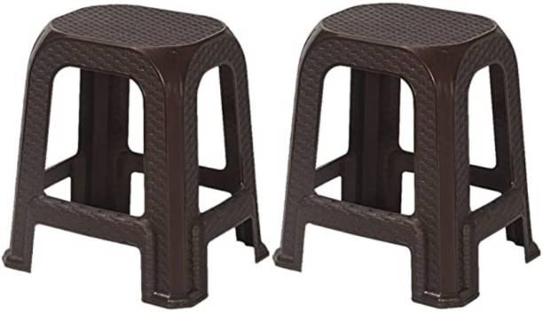 Nilkamal stool 26 brown Outdoor & Cafeteria Stool