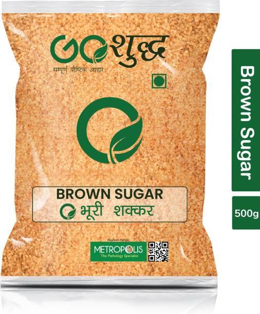Goshudh Premium Quality Brown Sugar-500gm (Pack Of 1) Sugar