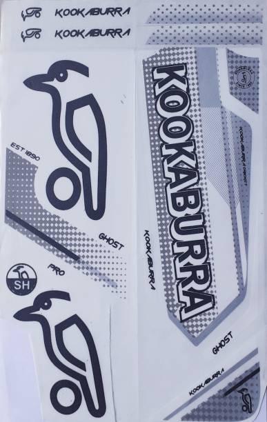KW HP Kookaburra Pro Ghost Bat sticker (white) Bat Sticker