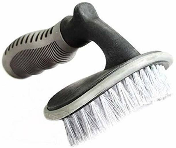 Campark Car Tyre Cleaning Brush Motorcycle Wheel Tyre Rim Scrub Brush Tyre Washing Brush 1 Wheel Tire Cleaner