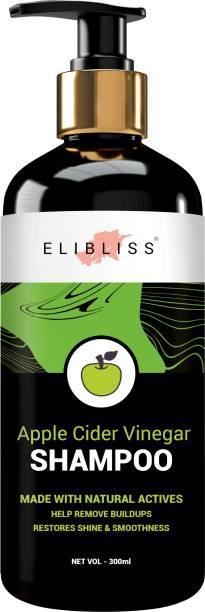 ELIBLISS Apple Cider Vinegar Shampoo, Argan Oil, No Sulphate, No Parabens