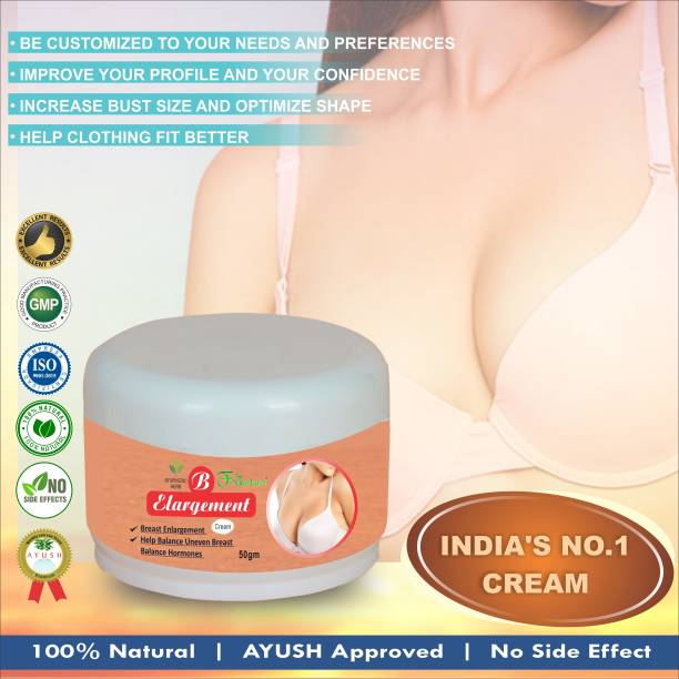 Floarkart B Increasing Herbal Cream For Helps In Prevents Sagging Your Breast Size 100% Natural