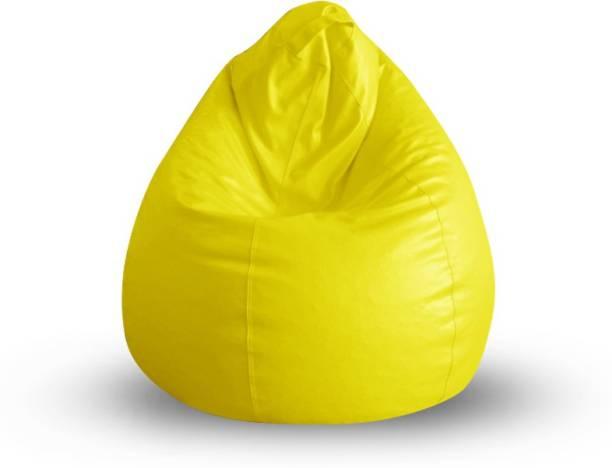 STYLE HOMEZ XL Tear Drop Bean Bag Cover  (Without Beans)