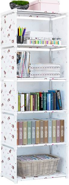 MemeHO Metal Open Book Shelf