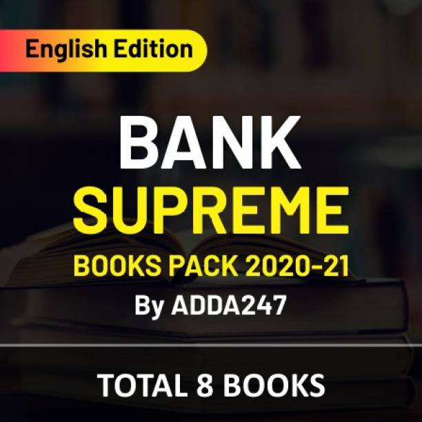 Bank Supreme Books Pack 2020-21 (English Edition)