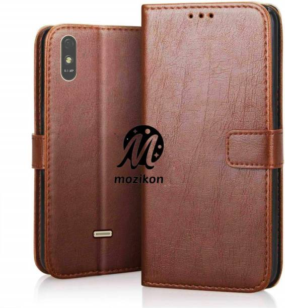 MOZIKON Flip Cover for Lava Z61 Pro