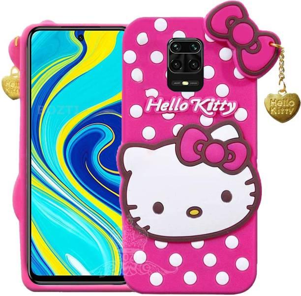 BOZTI Back Cover for Poco M2 Pro, Mi Redmi Note 9 Pro, Mi Redmi Note 9 Pro Max, Cute Hello Kitty Case