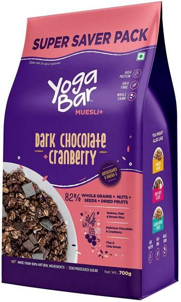 Yogabar Dark Chocolate & Cranberry