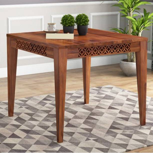 Kendalwood Furniture Extensively tested : - The robust structure has undergone over 15 tests to ensure quality and safety. Solid Wood 4 Seater Dining Table