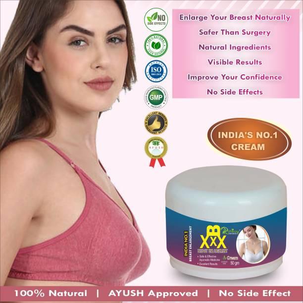 Riffway B XXX Massage Cream For (ENHANCE & FIRMING) Women CREAM Organic Nipple Cream 100% Ayurvedic