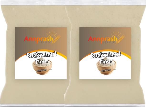 ANNPRASH Premium Quality Buckwheat Flour/ Kuttu Atta / Buck Wheat - 500GM (250gmx2)