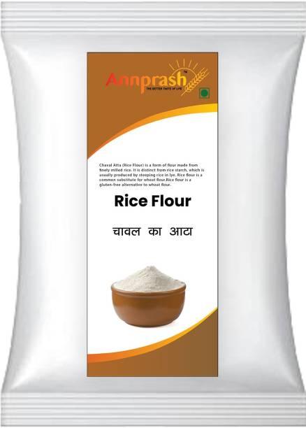 ANNPRASH Premium Quality Rice Flour/Chaval Atta - 2KG Pack
