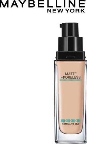 MAYBELLINE NEW YORK Foundation Matte+Poreless(125 Nude Beige) Foundation