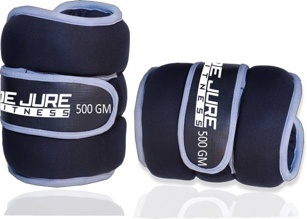 DE JURE FITNESS Ankle/Wrist Weight 500gm*2 Grey Wrist Weight
