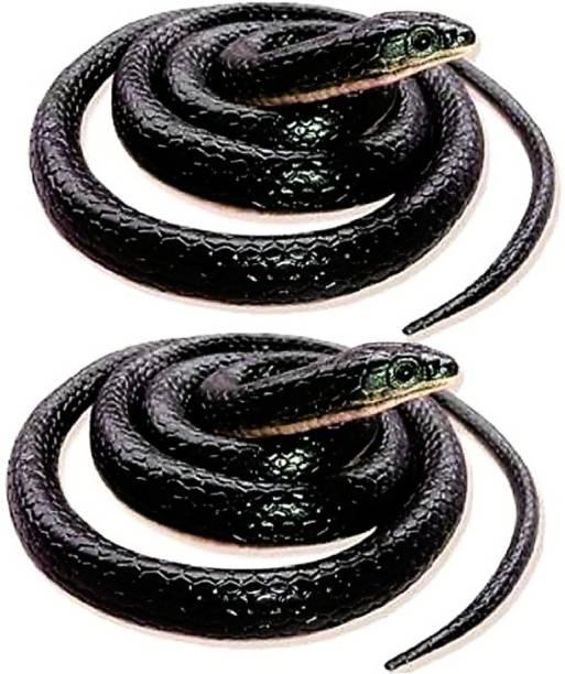 sehgal 2 Fake Snake/Prank Realistic Fake Rubber Snake Prank Toy Fake Snake Prank Toy Gag Toy