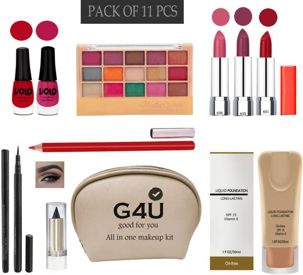 G4U All In One Makeup Kit For Women/Girl 2J2021A95