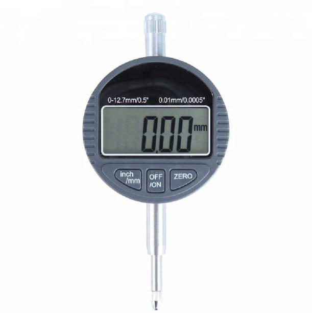 Divinext 0-12.7mm 0.01mm Digital Dial Indicator DTI Test Gauge Electronic LCD Display Dial Indicator