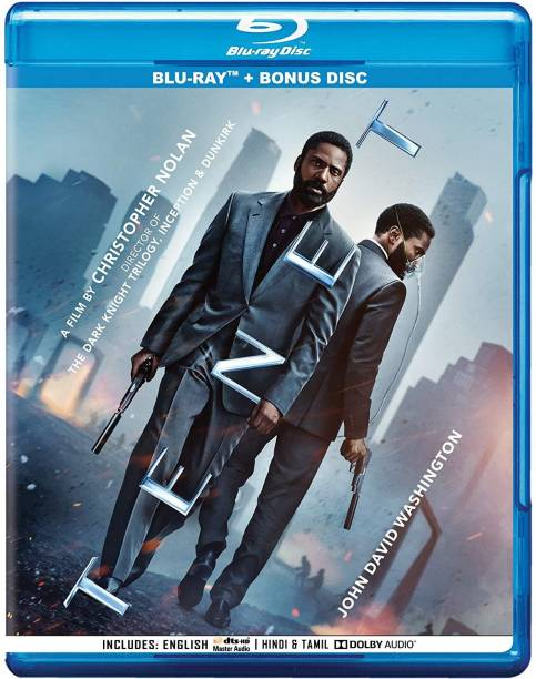 Tenet (Blu-ray + Bonus) (2-Disc)