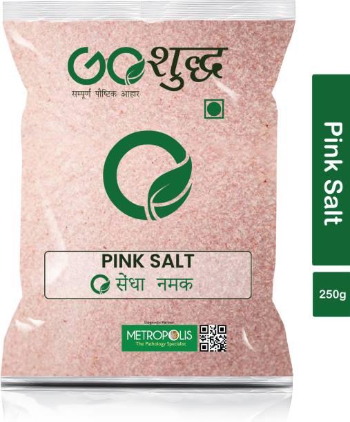 Goshudh Premium Quality Pink Salt (Sendha Namak)-250gm (Pack Of 1) Himalayan Pink Salt