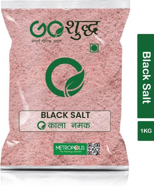 Goshudh Premium Quality Black Salt (1kg) Black Salt