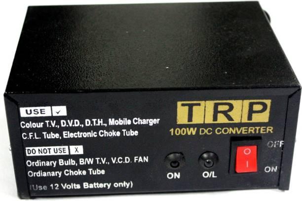 TRP TRADERS 12V DC to 220 AC 100Watts converter Worldwide Adaptor