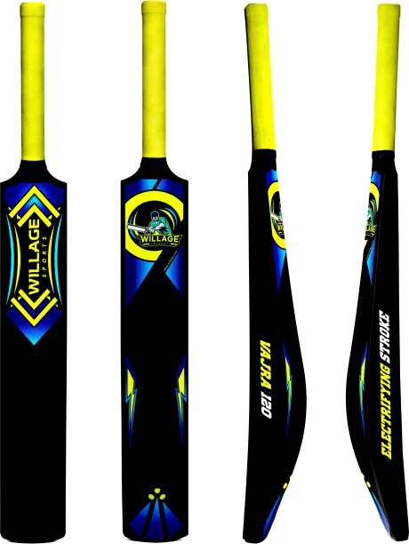 WILLAGE Plastic bat Ball , Plastic bat For Tennis Ball,Cricket Plastic bat for tennis ball PVC/Plastic Cricket  Bat
