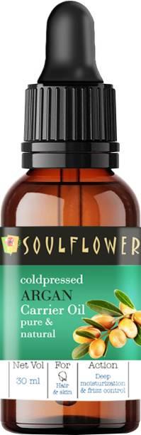 Soulflower Coldpressed Argan Carrier Oil