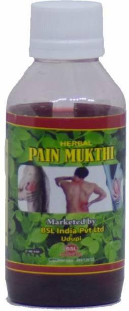 Sozo Pain Mukthi Oil Liquid