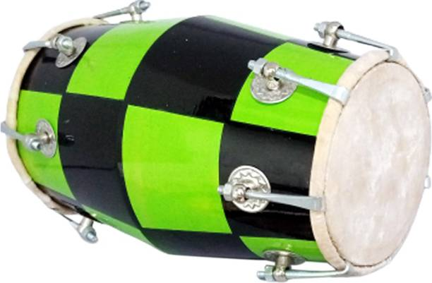 NSR RR Musical Nut & Bolts Dholki Check Design 5 4 2 1 Nut & Bolts Dholki
