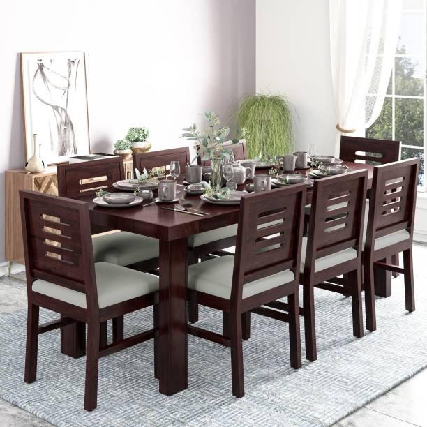 Deuba Solid Wood 8 Seater Dining Set