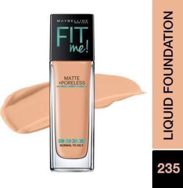 MAYBELLINE NEW YORK Fit Me Matte+Poreless Liquid + Pump fondation Foundation