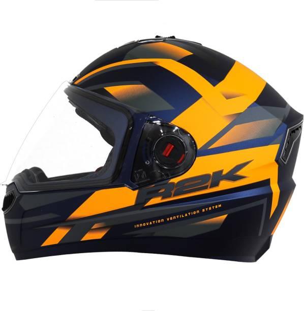 Steelbird SBA-1 R2K Full Face Graphics Helmet Motorbike Helmet