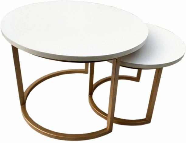 PRITI Engineerwood Nesting Table Engineered Wood Nesting Table