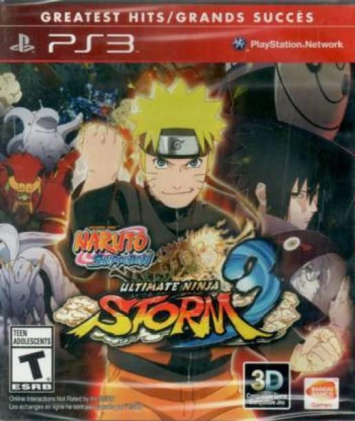Naruto Shippuden Ultimate Ninja Storm 3 (Games, PS3) (GREATEST HITS)