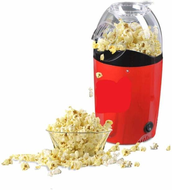 WAKTORO Hot Air Popcorn, Popper Electric Machine Snack Maker, with Measuring Cup and Removable Lid/Instant Popcorn Grade Aluminum Alloy Oil Free Popcorn Maker Hot Air Popcorn, Popper Electric Machine Snack Maker, with Measuring Cup and Removable Lid/Instant Popcorn Grade Aluminum Alloy Oil Free Popcorn Maker 1 L Popcorn Maker
