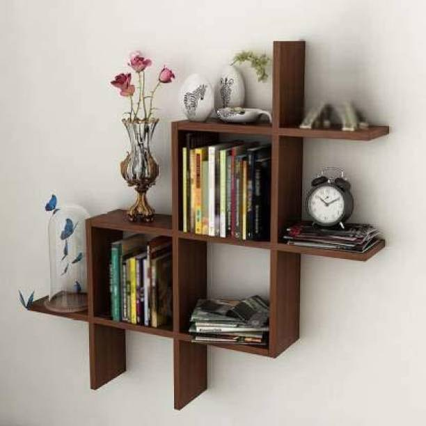 Xtenshion Crafts wooden/pluss/wall shelf/utility wall shelf MDF (Medium Density Fiber) Wall Shelf Wooden Wall Shelf