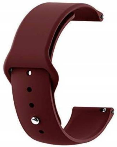 Asotai Soft Silicone 22mm Replacement Strap Band Compatible for Galaxy Watch 3 45mm/Galaxy 46mm/Gear S3 Frontier,Classic/Amazfit Pace Stratos,Stratos+,Stratos3 /Huawei GT2 46mm/Honor Magic Watch 2 (46mm) & Smartwatch with 22mm Lugs (Wine Red) Smart Watch Strap
