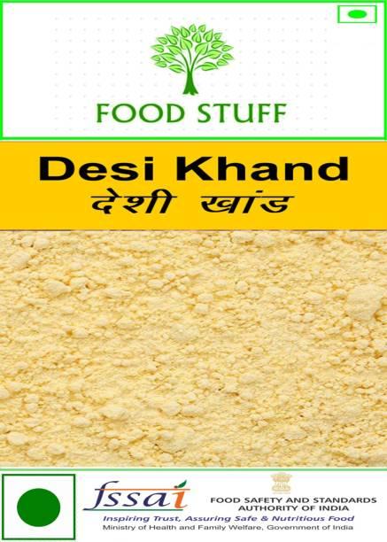 FOOD STUFF Pure Desi Khand / Raw Sugar - 1500GM Sugar