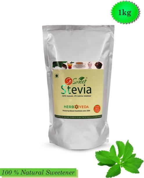 SO SWEET Stevia Powder 1Kg Sugarfree Zero Calorie Natural Sweetener
