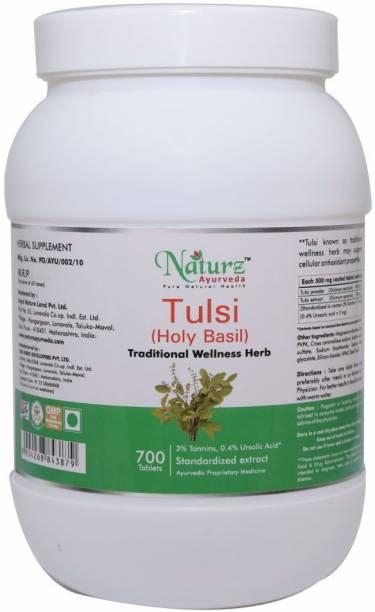 Naturz Ayurveda Tulsi 700 Tablets