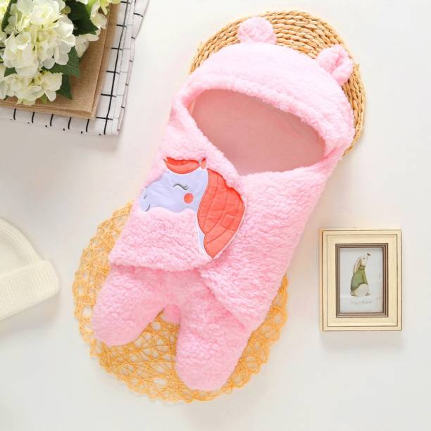 BRANDONN New Born Supersoft Wearable Designer Baby boys, Baby Girls Sleeping Bag For Babies Sleeping Bag