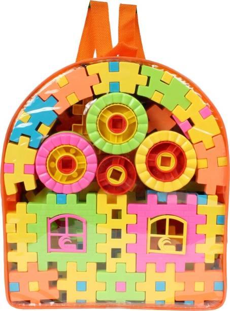 Planet of Toys Stem Education Series Creative & Fun Activity Construction Building Blocks