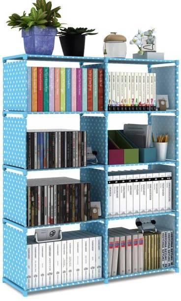 MemeHO Metal Open Book Shelf