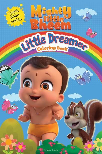 Mighty Little Bheem - Little Dreamer Coloring Book