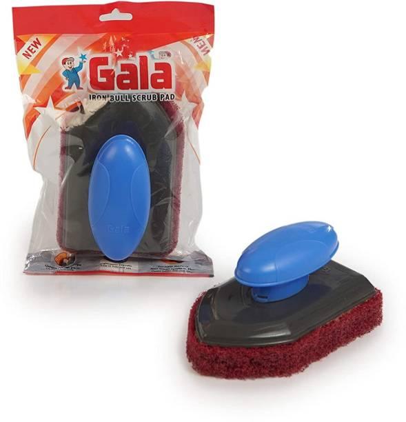 GALA Iron Bull Bathroom Floor and Kitchen Floor Scrubber Scrub Pad, Sponge Wipe