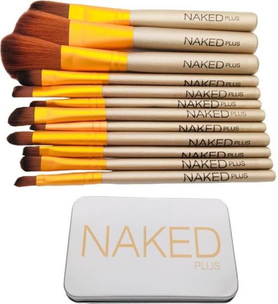 NAKED PLUS Professional Make-Up Brushes