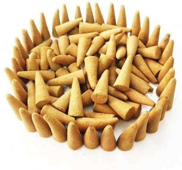 shree pujan Guggal Fragrance Dhoop Batti (Pack of 100) - Jar Available Guggal Dhoop Guggul Dhoop