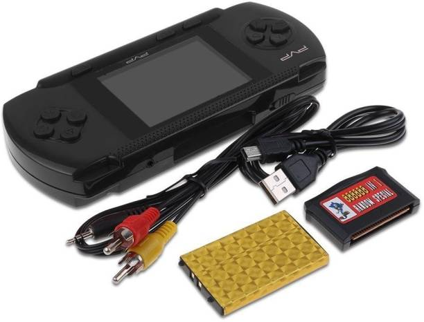 Best PVP Video Game - TV Video Game for Kids (PVP-Black) 1 GB with Super Mario, Contra Limited Edition