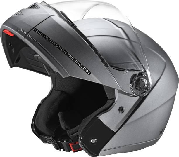STUDDS NINJA ELITE SUPER FULL FACE - MATT GUN GREY -L Motorbike Helmet